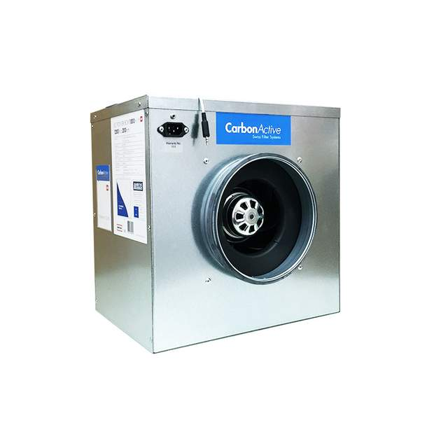 CarbonActive EC Silent Box 280m³/h 125mm mit GrowBase EC PRO