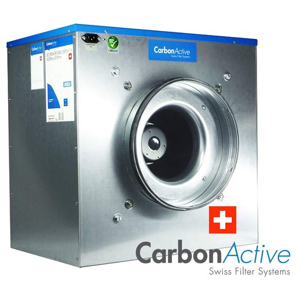 CarbonActive EC Silent Box 11000m³/h 500mm 1600 Pa 400V