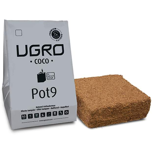UGro Pot9 Coco Brick